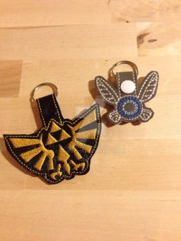 Legend of Zelda Keychains  by jedimeg16