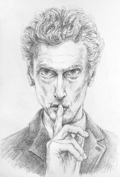Peter Capaldi by Kiriwana