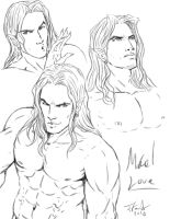 Mael sketches by Destinyfall