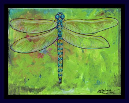 Dragonfly Bug Insect Wings bugs winged blue by StephanieSmall