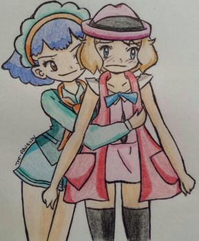 Miette is a serious tease!  by The-P3nguin