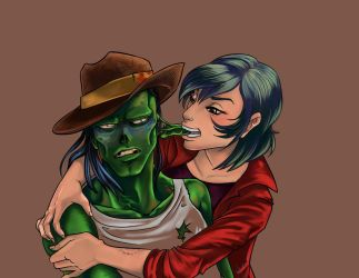 zombiely affeccionate by Jeupe