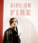 Girl on Fire by Linds37
