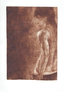 Body - mezzotint by excence