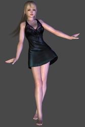 Death Note - Misa Amane Night Gown DL by TheRaiderInside