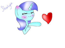 .:GIFT:. Gave heart to Misty Cloud by Rainbow-Star-Chan