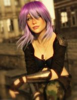 Promo Render - Jette Hair for Genesis 3 and 8 M/F by QuanticDementia
