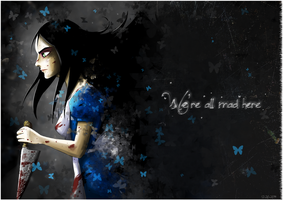 We're all mad here by Anzhyra
