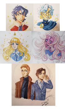 Copic Commissions by Jellyfishbubblez