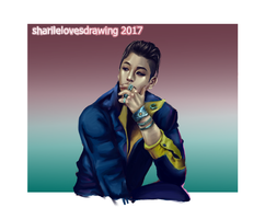 Big Bang  Taeyang by sharilelovesdrawing