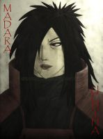 Madara Uchiha by bargiegaara