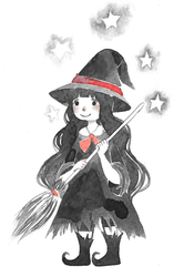 Little Witch by QueenofCuriosity