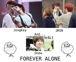 Onew is Forever Alone ! by Gae-In