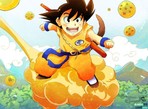 dragonball tribute by uyow
