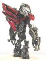 Lego bionicle Grunt by retinence