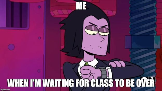 Is class over?!!!! by aiko-sweetgirl