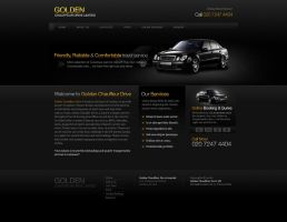 Chauffeur Service Website by Nas-wd