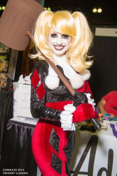 Comikaze 2014 Harley Quinn Traci Hines Cosplay by wbmstr