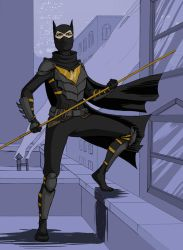 Batgirl Begins Again: Cassandra Cain by bredenius