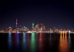 Toronto From The Docks Redux by Pattysnaps