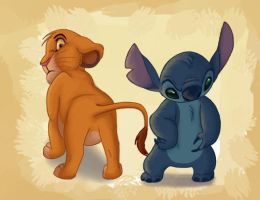 Literal Disney - Bums And Bits by NostalgicChills