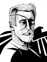 Clint Eastwood, Agent of S.H.I.E.L.D by RCarter