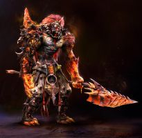 Lava_warrior by noah-kh