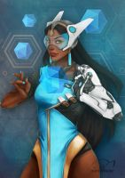 Symmetra by darkelfslair