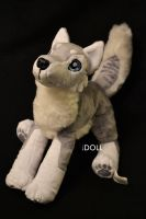 12 inch Husky Plush by dot-DOLL