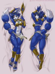 Krystal Dakimakura by playfurry