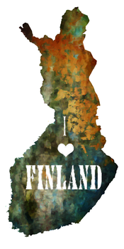 I love Finland by Ketutar