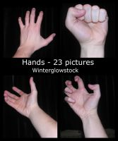 Hands pack by WinterglowStock