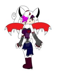Zouge the bat's new look by Zougethebat