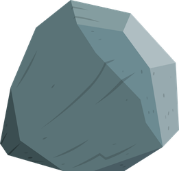 Tom the rock. Or... Diamond? by AxemGR