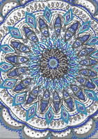 Blue Mandala by allysorge