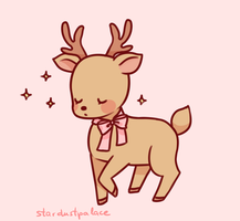 reindeer by stardust-palace
