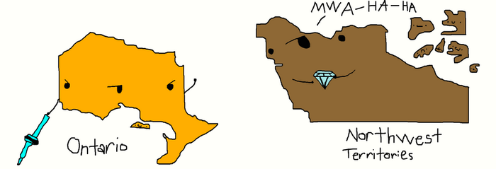 Ontario and NT by Quazoo