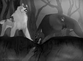 Fox Hunt | Leyron and Selena by ghost-wrassler