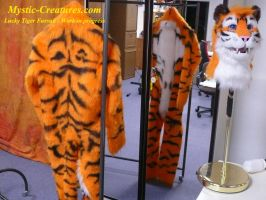 Lucky Tiger Fursuit - Work in progress by Mystic-Creatures