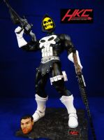 Skeletor Punisher (Evil Lord of Payback) by hunterknightcustoms