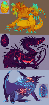 Hatchlings by LiLaiRa