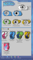 Eyes, Nebulae by Thalliumfire