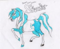 Streaker: Reference by SodaHorse73