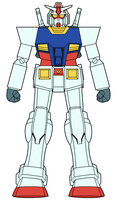 RX-78-2 Gundam second attempt by ironscythe