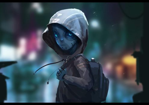 SP_Android_Child by JustMick