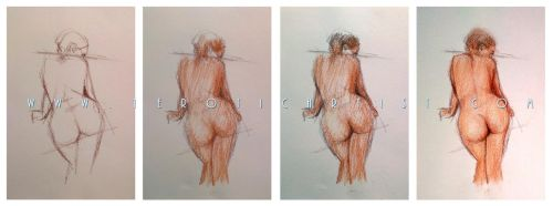 Figure drawing step by step by 1EroticArtist