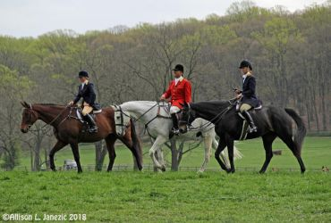 Outriders at the 2018 Maryland Hunt Cup by Prairie-Bayou