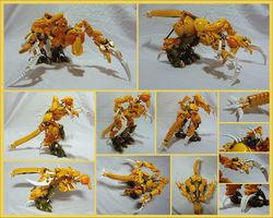 Bionicle MOC - Ground Star 2.0 by Alex-Darkrai
