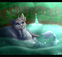 Aquatic Horizons |Speedpaint| by Blizzardrunner