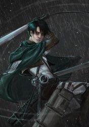 Attack on Titan- Levi by Lilith-the-5th